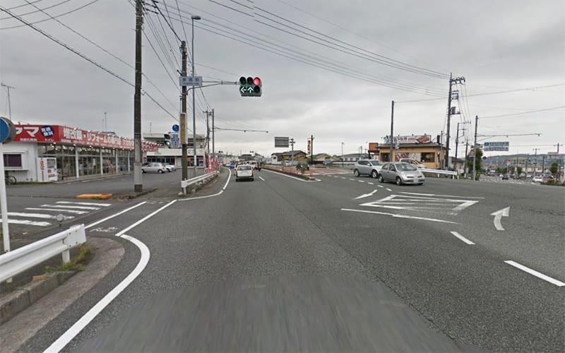 富士宮市街から国道139号富士方面へ進みます。