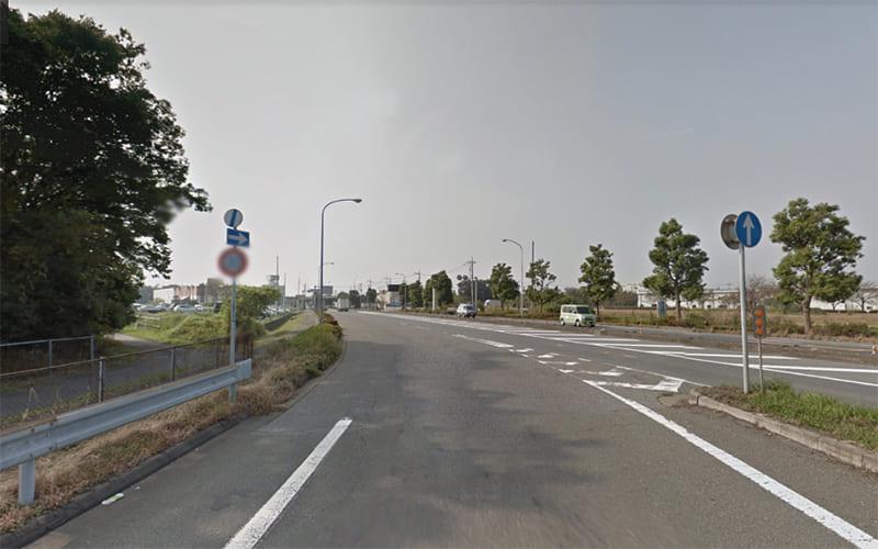 国道462号線 に入ります。。